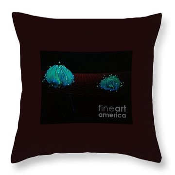Throw Pillow featuring the photograph Heart Jelly by Vanessa Palomino