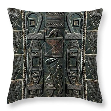 Heart Of Africa Throw Pillow