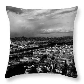 Paris 3 Throw Pillow