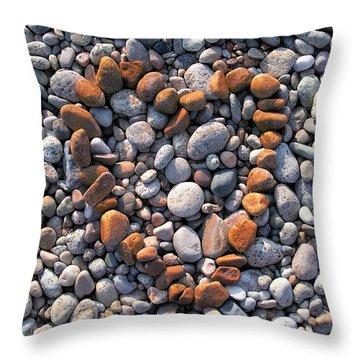 Heart Of Stones Throw Pillow