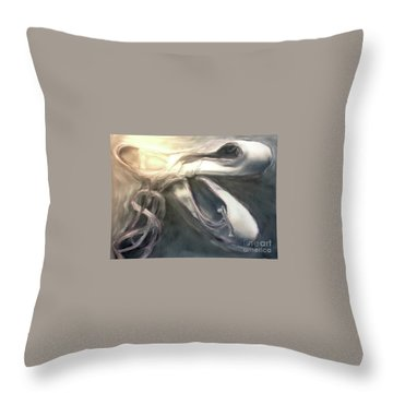 Heart Of The Dance Throw Pillow by FeatherStone Studio Julie A Miller