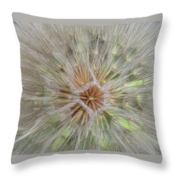 Heart Of The Dandelion Throw Pillow