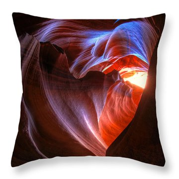 Heart Of The Navajo Throw Pillow