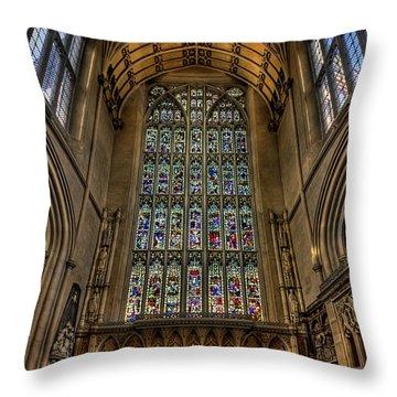 Heart Of Worship Throw Pillow