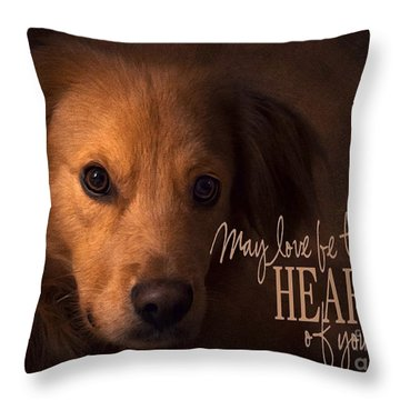 Heart Of Your Home  Throw Pillow