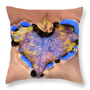 Heart Of Zion Utah Adventure Landscape Art By Kaylyn Franks Throw Pillow