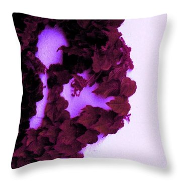 Throw Pillow featuring the photograph Heartbreak by Vanessa Palomino