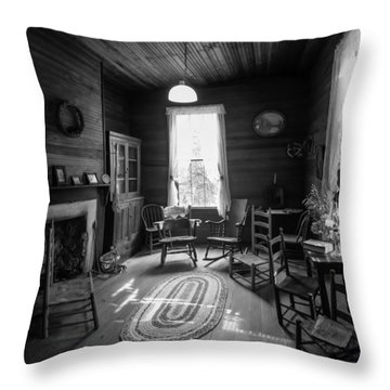 Hearthside Gathering Throw Pillow by Lynn Palmer
