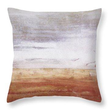Heartland- Art By Linda Woods Throw Pillow by Linda Woods
