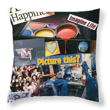 heARTmatters Throw Pillow