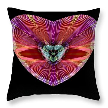 Hearts #11 Throw Pillow