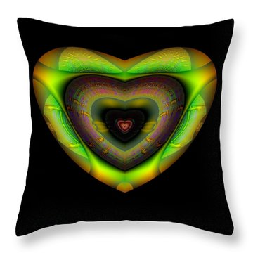 Hearts #12 Throw Pillow