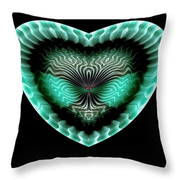 Hearts #13 Throw Pillow
