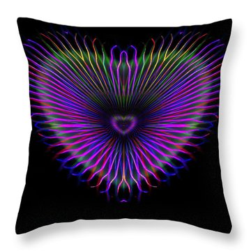 Hearts #14 Throw Pillow