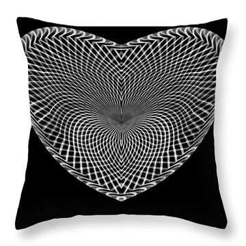 Hearts #15 Throw Pillow