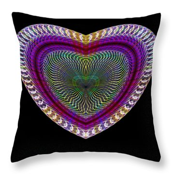 Hearts #17 Throw Pillow