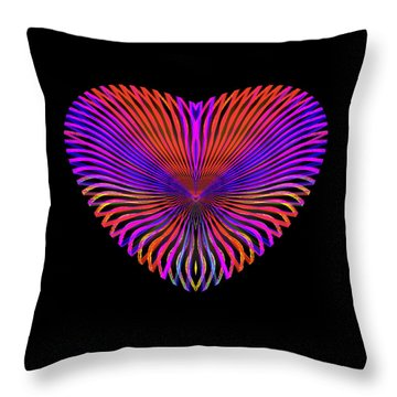 Hearts #18 Throw Pillow