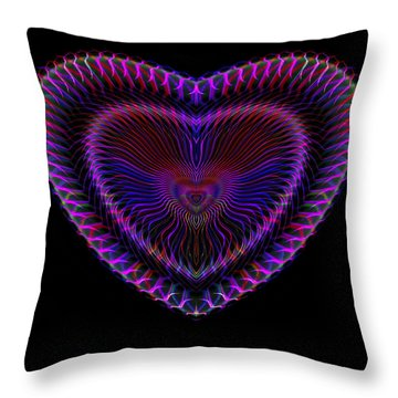 Hearts #19 Throw Pillow