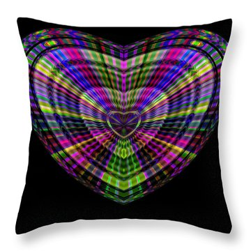 Hearts #20 Throw Pillow