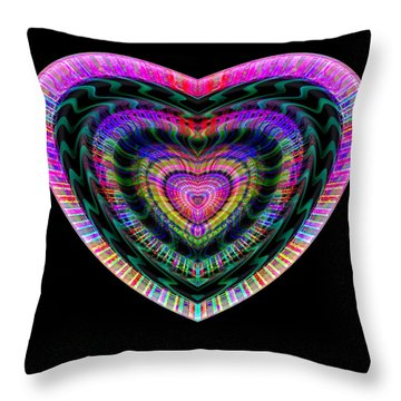 Hearts #22 Throw Pillow