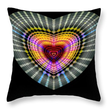 Hearts #24 Throw Pillow