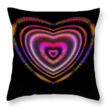 Hearts #25 Throw Pillow