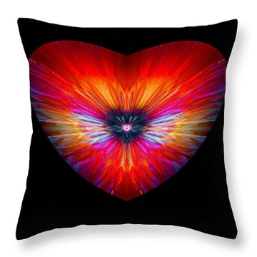Hearts #26 Throw Pillow