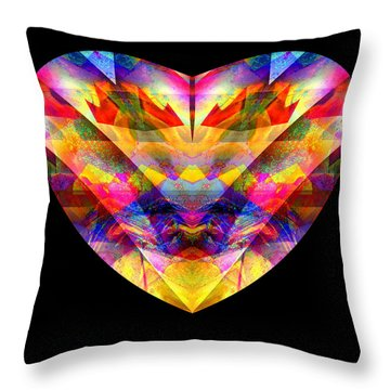 Hearts #27 Throw Pillow