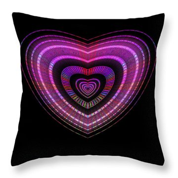 Hearts #28 Throw Pillow