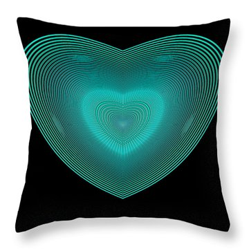 Hearts #29 Throw Pillow