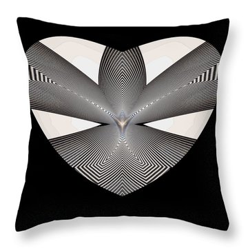 Hearts #33 Throw Pillow