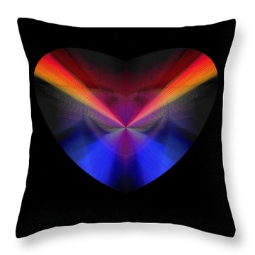 Hearts #39 Throw Pillow