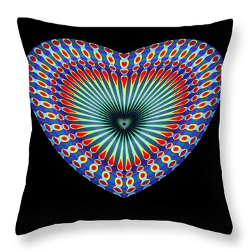 Hearts #43 Throw Pillow