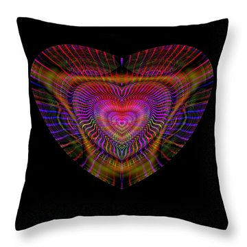 Hearts #5 Throw Pillow