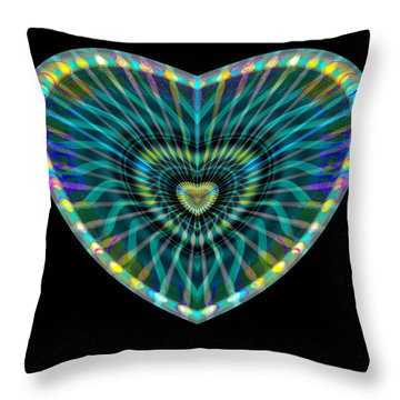 Hearts #8 Throw Pillow