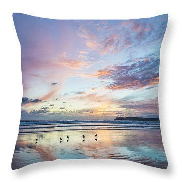 Hearts In The Sky Throw Pillow