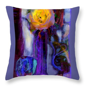 Hearts 'n Flowers Love Always Throw Pillow