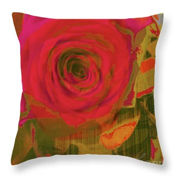 Hearts 'n Flowers-what Quarrel Throw Pillow