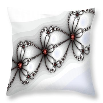 Hearts Of Fire Throw Pillow