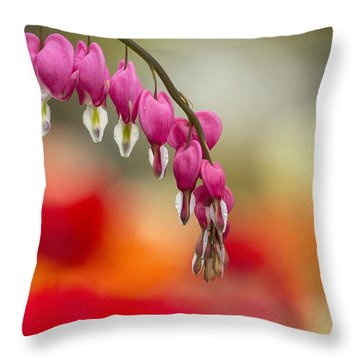 Hearts So Fine Throw Pillow