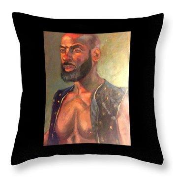 Heat Merchant Throw Pillow
