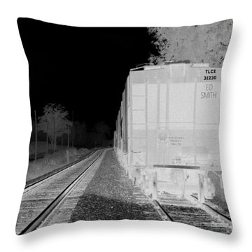 Heat Of The Night Throw Pillow