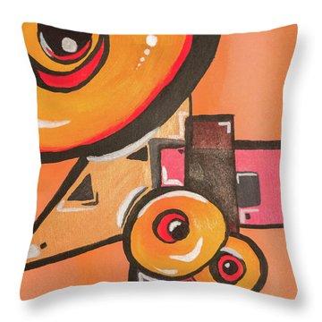 Heat Seek Throw Pillow