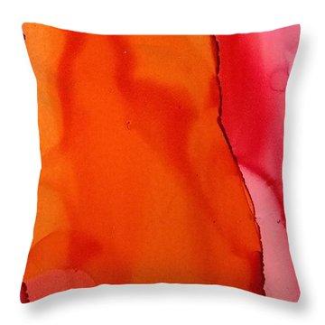 Heat Waves Throw Pillow