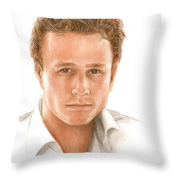 Heath Throw Pillow by Bruce Lennon