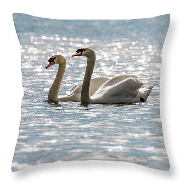 Heather And Keith Throw Pillow