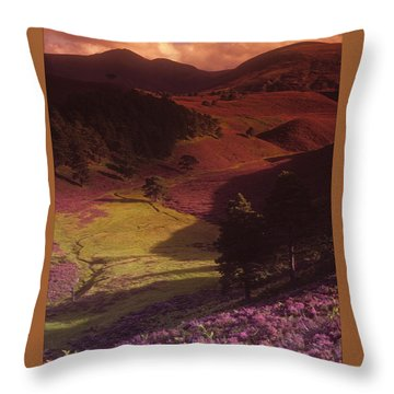 Heather Hills Throw Pillow