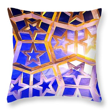 Heaven Throw Pillow by Andreas Thust