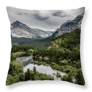Heaven Throw Pillow by Annette Berglund