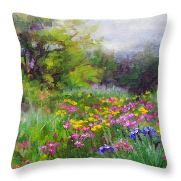 Heaven Can Wait Throw Pillow by Talya Johnson